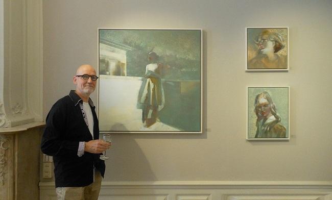Martin Koole in Pulchri Voorhoutgalerie